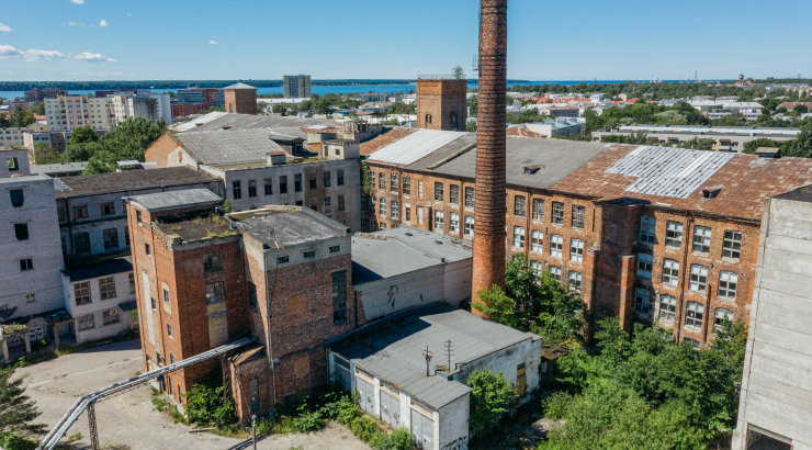 НЕ ПРОПУСТИТЕ! Эстонский архитектурный центр приглашает на уникальные экскурсии по Балтийской мануфактуре, которой более 120 лет