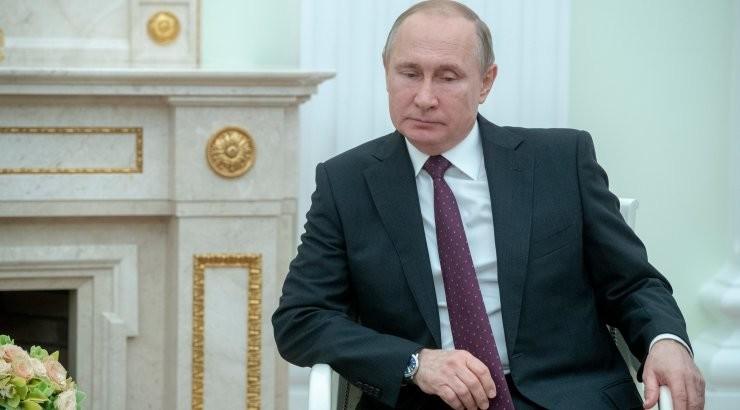 The Sun: у Путина выявлены симптомы болезни Паркинсона