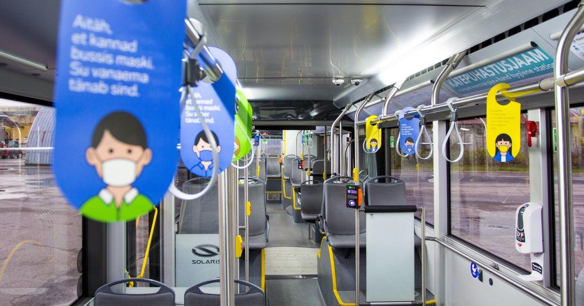 TLT обратилось к пассажирам: носите маски в общественном транспорте!