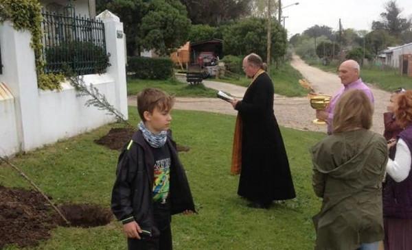 В Аргентине высадили «Сад памяти»