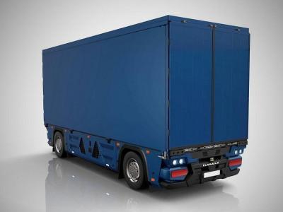 КАМАЗ испытывает самопилотируемый грузовик без кабины