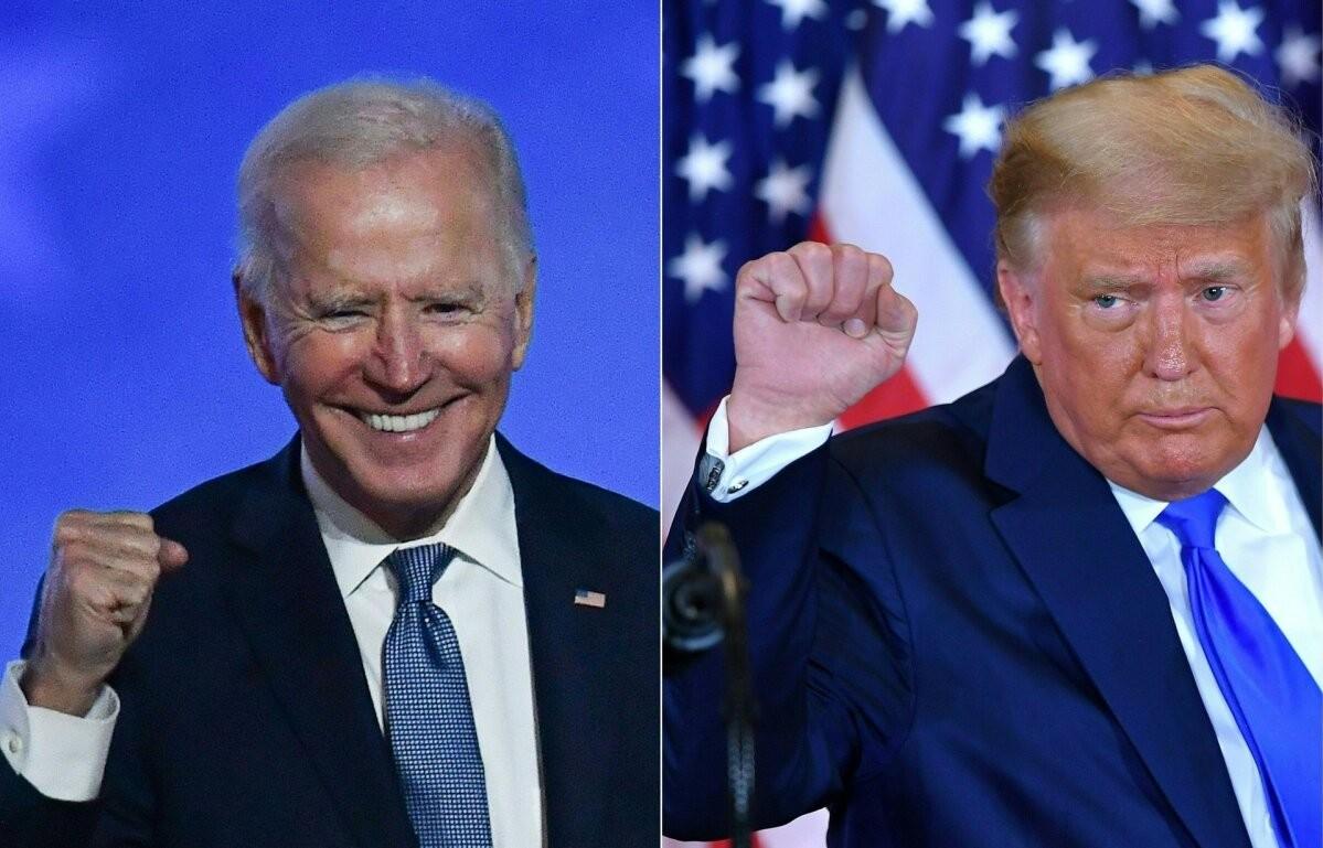 Байден побеждает на выборах в США
