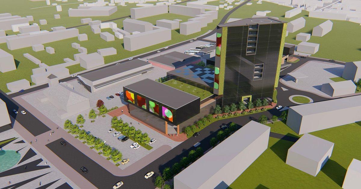 Владелец магазинов Grossi планирует построить новый торговый центр и небоскреб