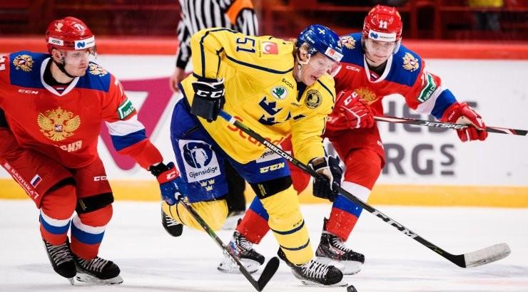 Сумеют ли молодые российские хоккеисты победить Швецию?
