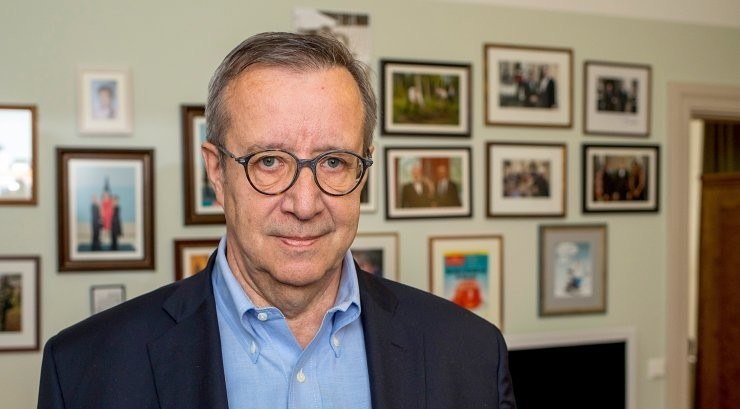 Президент Ильвес: Байден - это хорошо для Эстонии, но не для нашего правительства