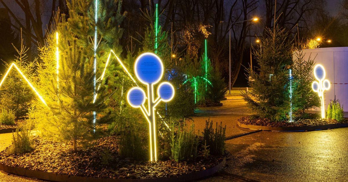 В Таллинне открылся Рождественский парк