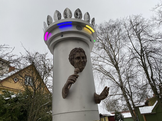 Без согласия Мати Кармина с памятником Яаку Йоале город ничего сделать не может