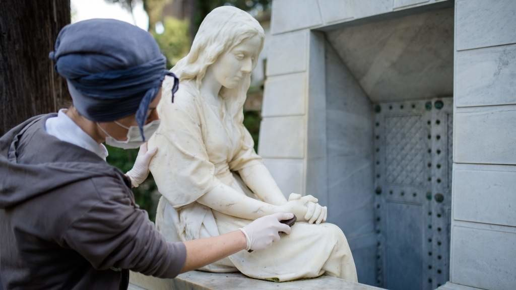 В Риме отреставрировали памятники Карлу Брюллову и княжне Оболенской