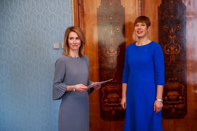 Президент Керсти Кальюлайд в четверг утром встретится с лидером реформистов Каей Каллас
