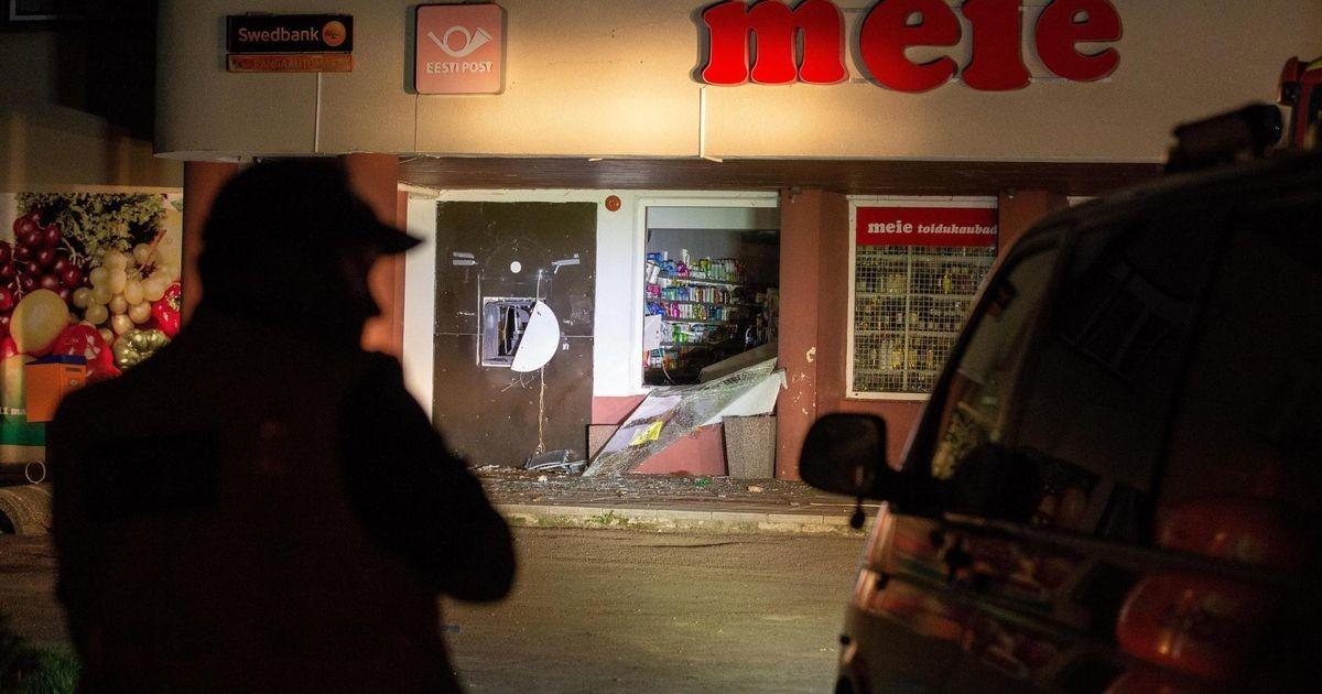 Взорвавшие в Эстонии банкомат молдаванин и болгарин задержаны на Украине