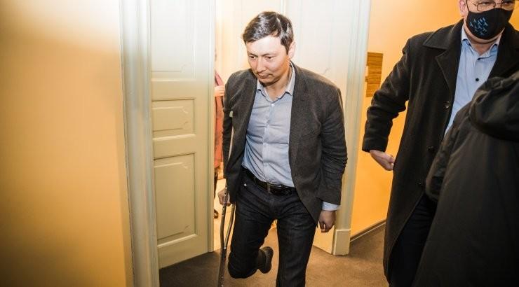 ФОТО | Почему Михаил Кылварт теперь ходит с костылем? Что случилось?