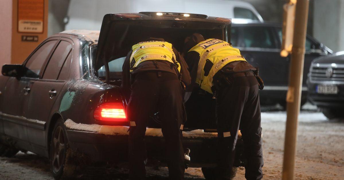 В центре Таллинна задержали водителя с подозрением на наркотическое опьянение