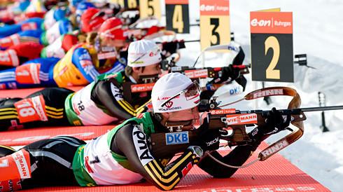 Оберхоф: в спринтовской гонке примут участие четыре эстонских биатлонистки
