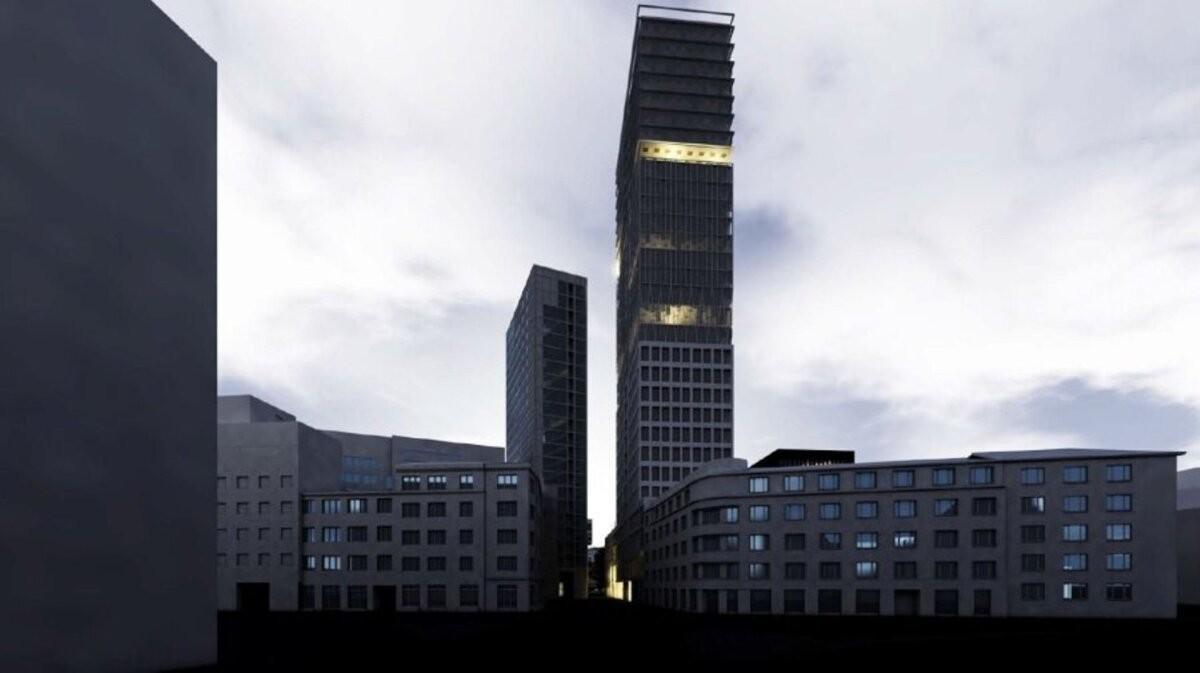 На пустыре в центре Таллинна хотят построить 30-этажный небоскреб