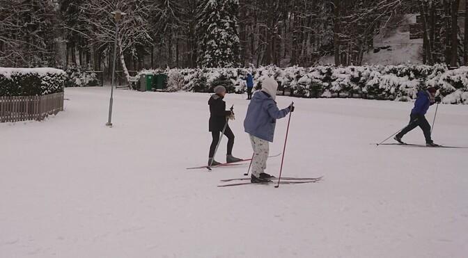 В Пыхья-Таллинне появилась лыжная трасса
