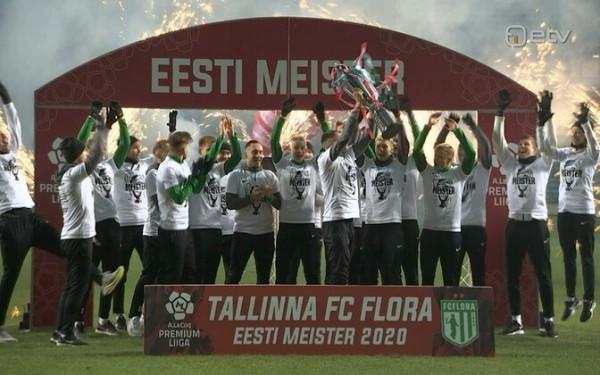 Чемпионат Эстонии по футболу стартует 5 марта и завершится 6 ноября