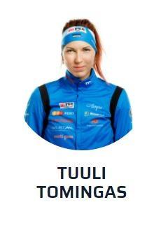 Биатлон: Туули Томингас замкнула 20-ку лучших на этапе Кубка мира в Оберхофе