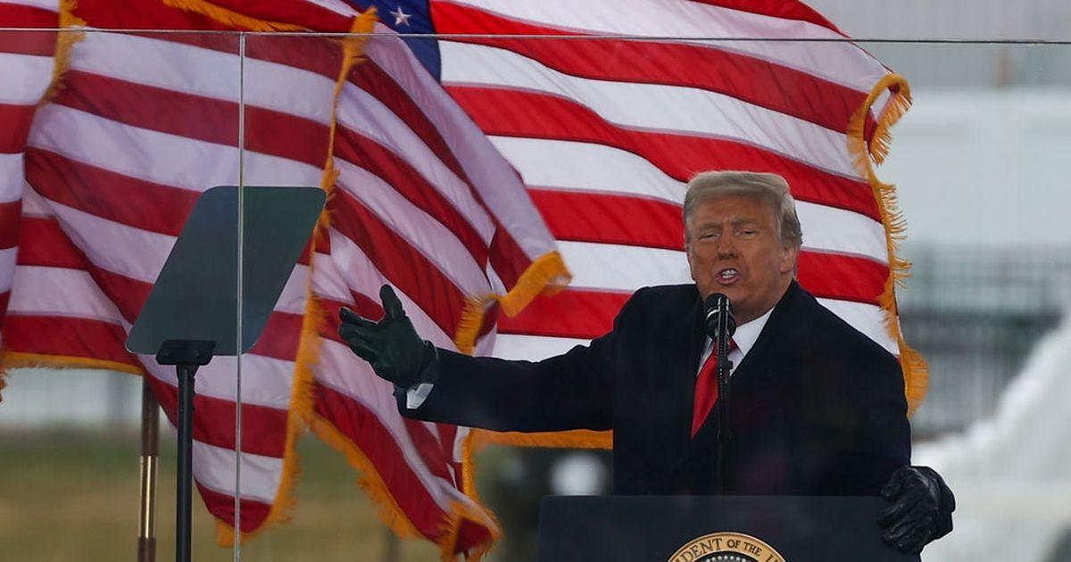 Нападение на Капитолий: призывал ли Трамп своих сторонников к мятежу?