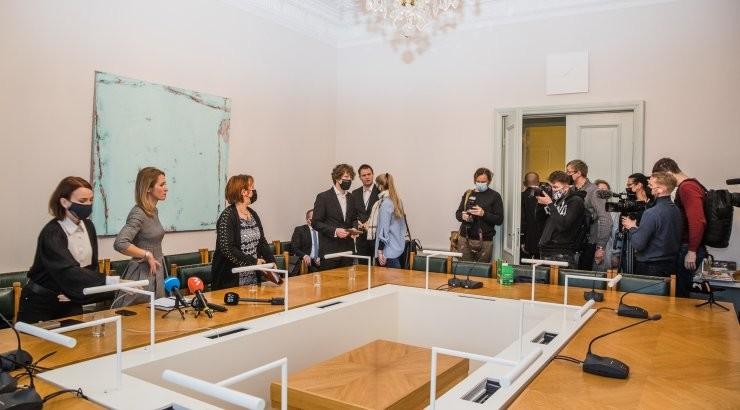 Реформисты и центристы выступили с совместным политическим заявлением: на чем будет основана внутренняя и внешняя политика Эстонии?