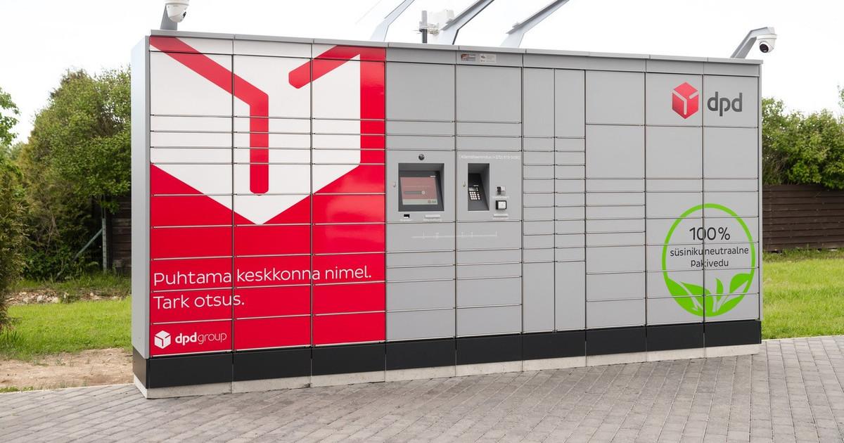 DPD добавит 50 посылочных автоматов по всей Эстонии