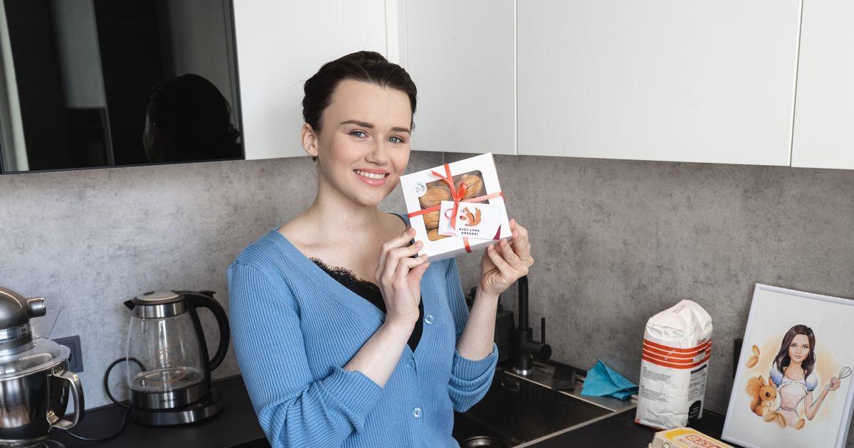 Крепкий орешек из Ласнамяэ: жительница Таллинна наладила бизнес, не выходя из собственной кухни