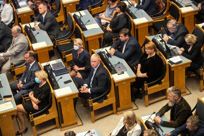 Norstat: рейтинг Партии реформ продолжает снижаться