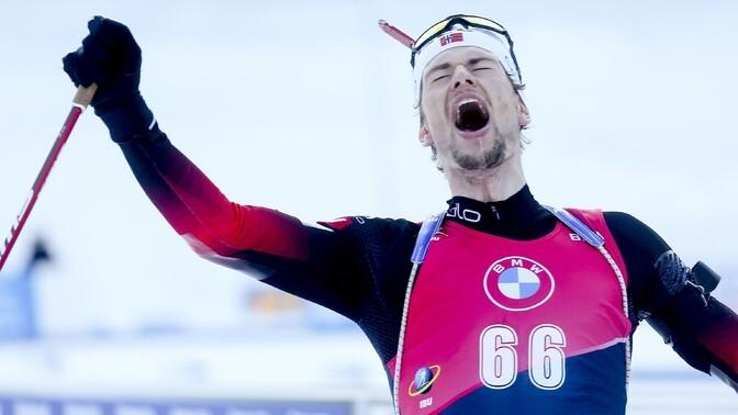 Норвежец Легрейд завоевал четвертую золотую медаль на ЧМ по биатлону