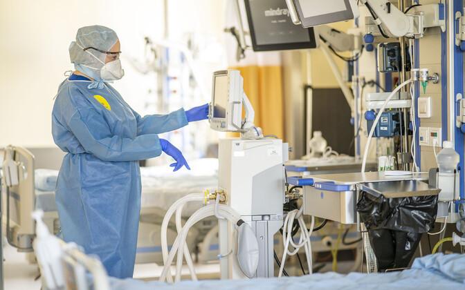 Россия закупает медицинский кислород в Финляндии