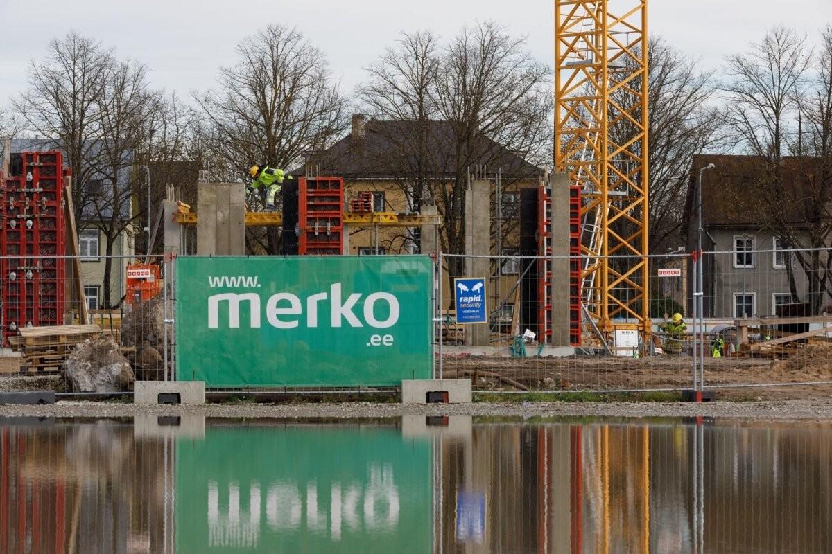 Merko построит еще два многоквартирных дома в квартале Lahekalda