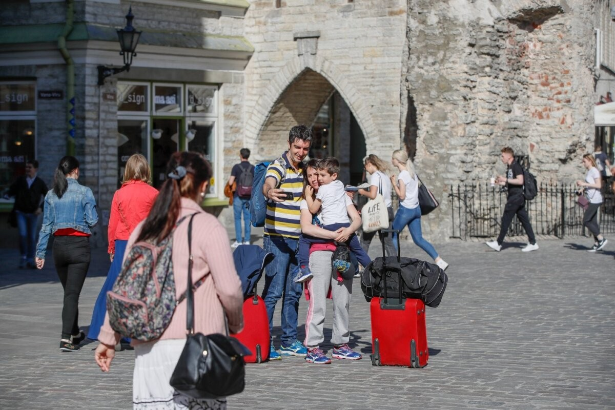 В Эстонию начинают понемногу возвращаться туристы: в апреле их было уже значительно больше, чем в прошлом году