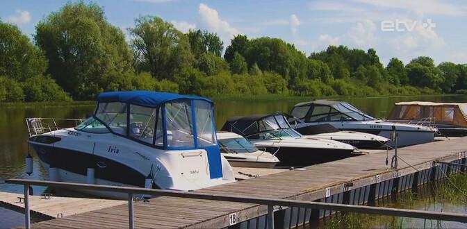 В Тарту резко возросло число желающих получить права водителя маломерного судна