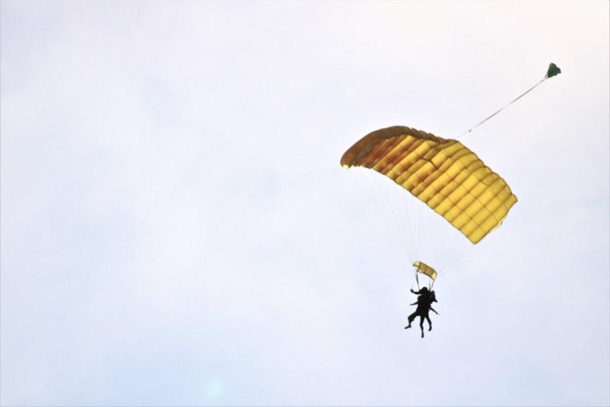 Ночью в Эстонию прибудет американский воздушный десант. 800 солдат будут прыгать с парашютом