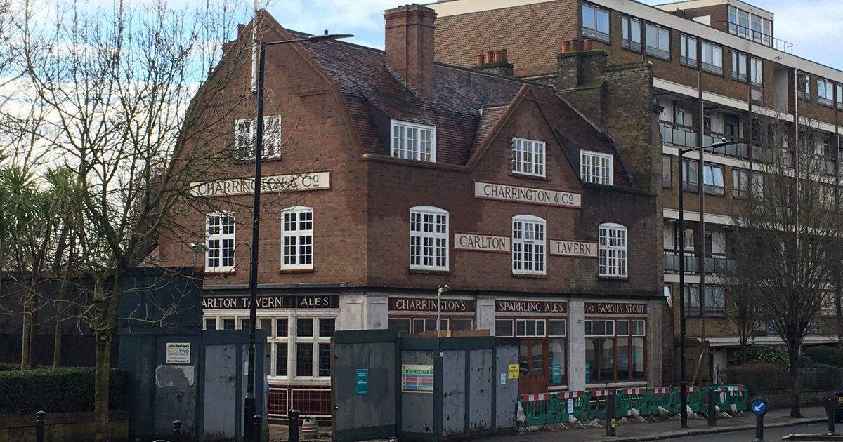 В Лондоне по кирпичику восстановили незаконно снесенный старый паб