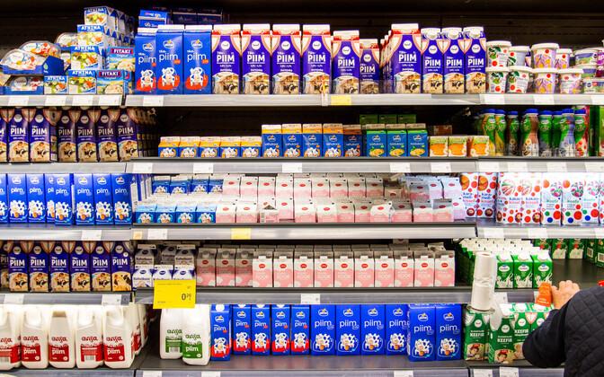 Предприятие Tere склоняет жителей Эстонии к употреблению молока с пониженной жирностью