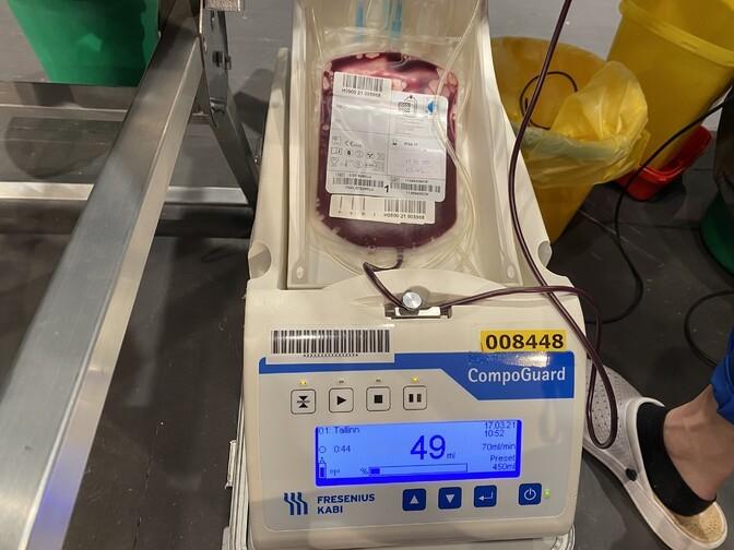 Ида-Вируской центральной больнице нужны доноры