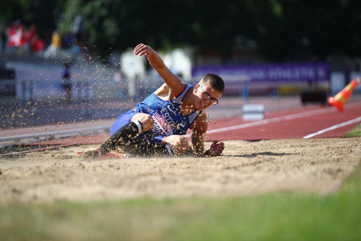 ФОТО   Элизабет Пихела и Виктор Морозов завоевали медали для Эстонии на ЧЕ по легкой атлетике в Таллинне