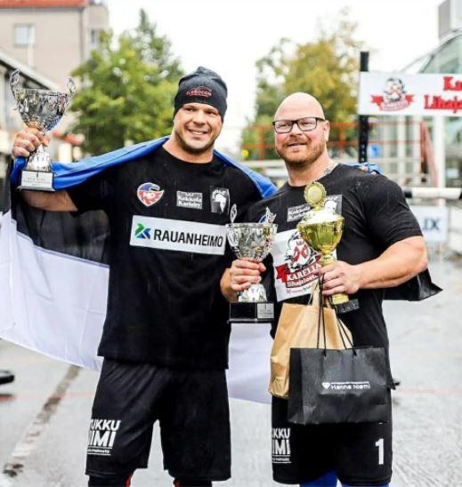 Марио Силд выиграл этап Лиги чемпионов Strongman в Финляндии