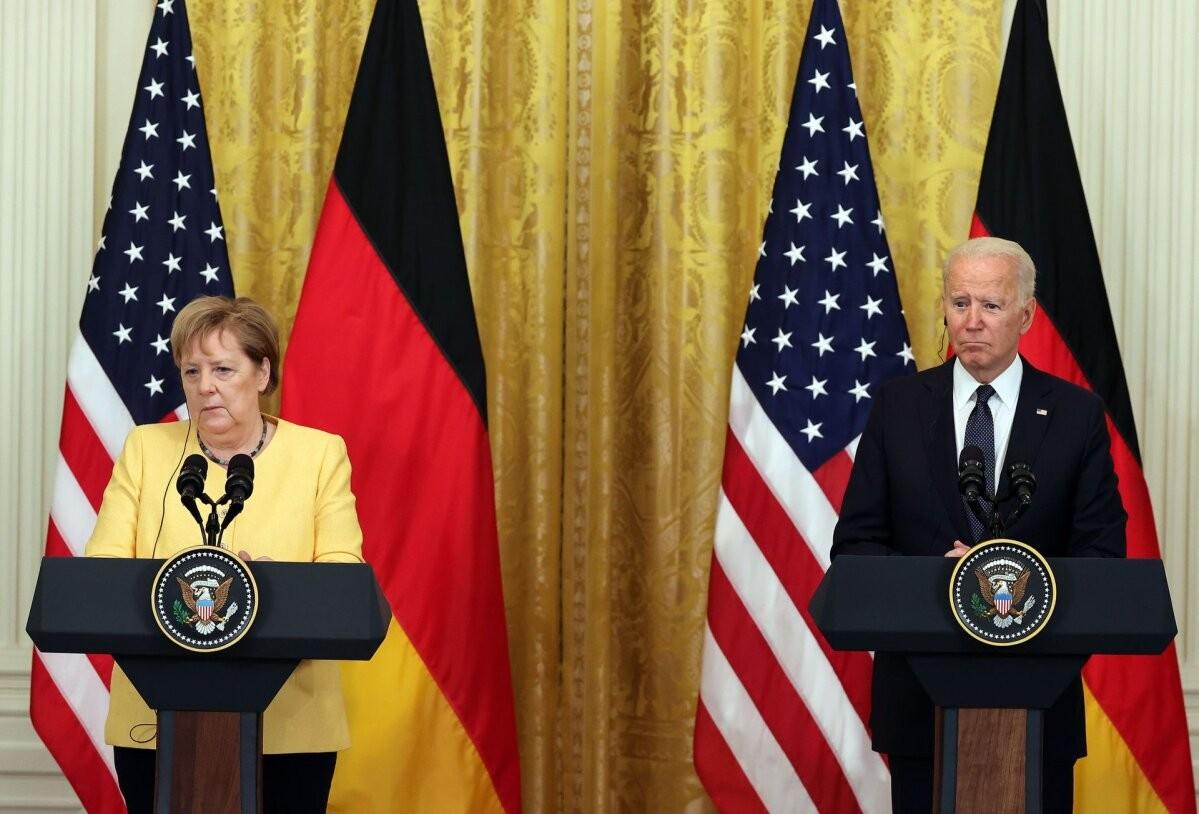 Байден и Меркель подписали «Вашингтонскую декларацию»