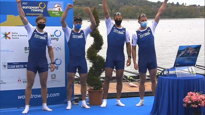 Эстонские гребцы завоевали бронзовые медали чемпионата Европы