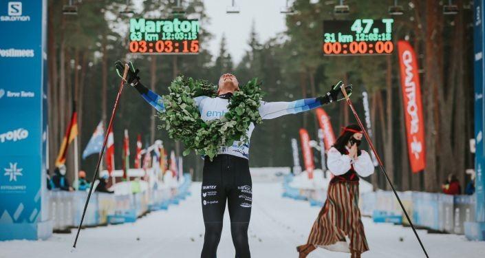 Победителями Тартуского марафона снова стали эстонские лыжники