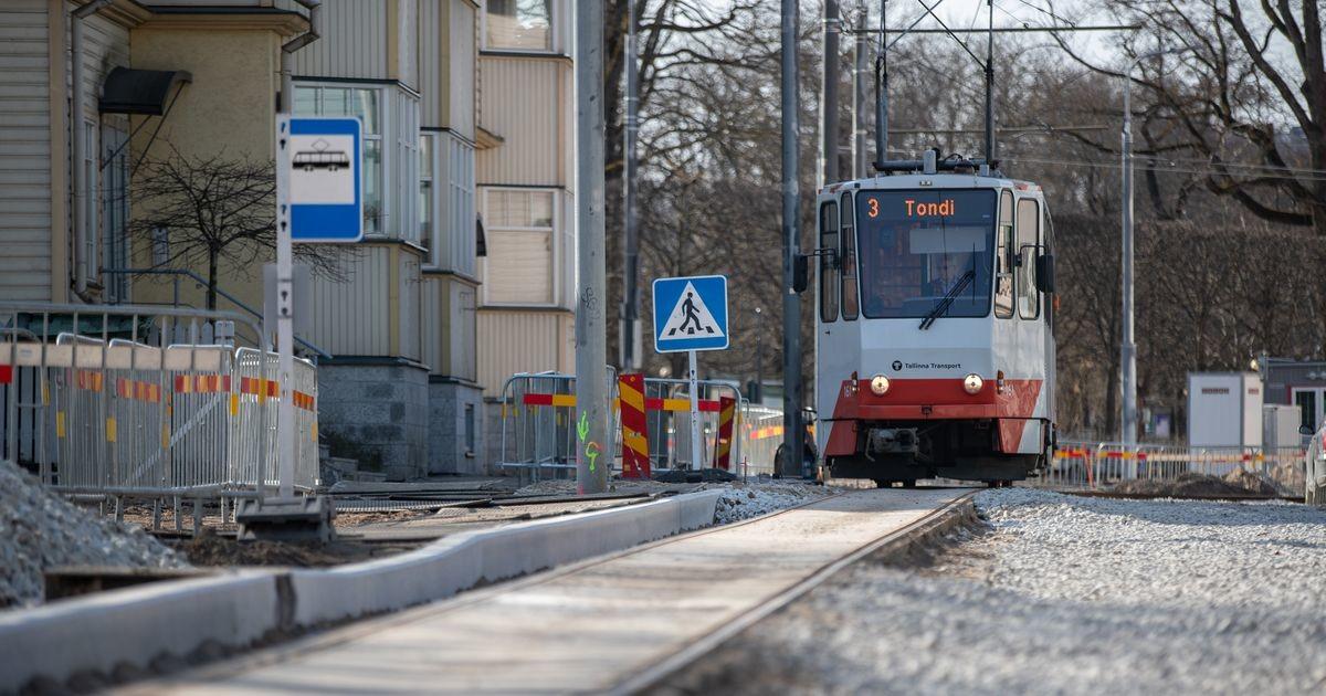 В связи с ремонтом улицы Поска временно остановится движение трамвая номер 3