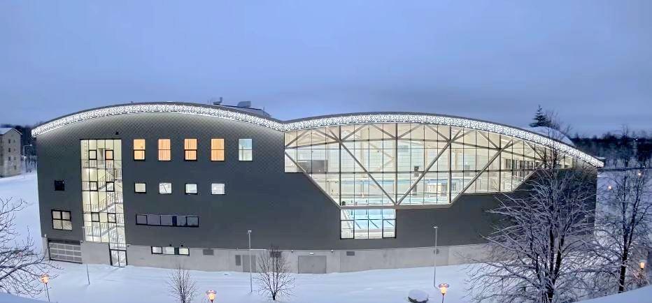 Открытие нового спортивно-оздоровительного центра в Кохтла-Ярве ожидается в середине лета