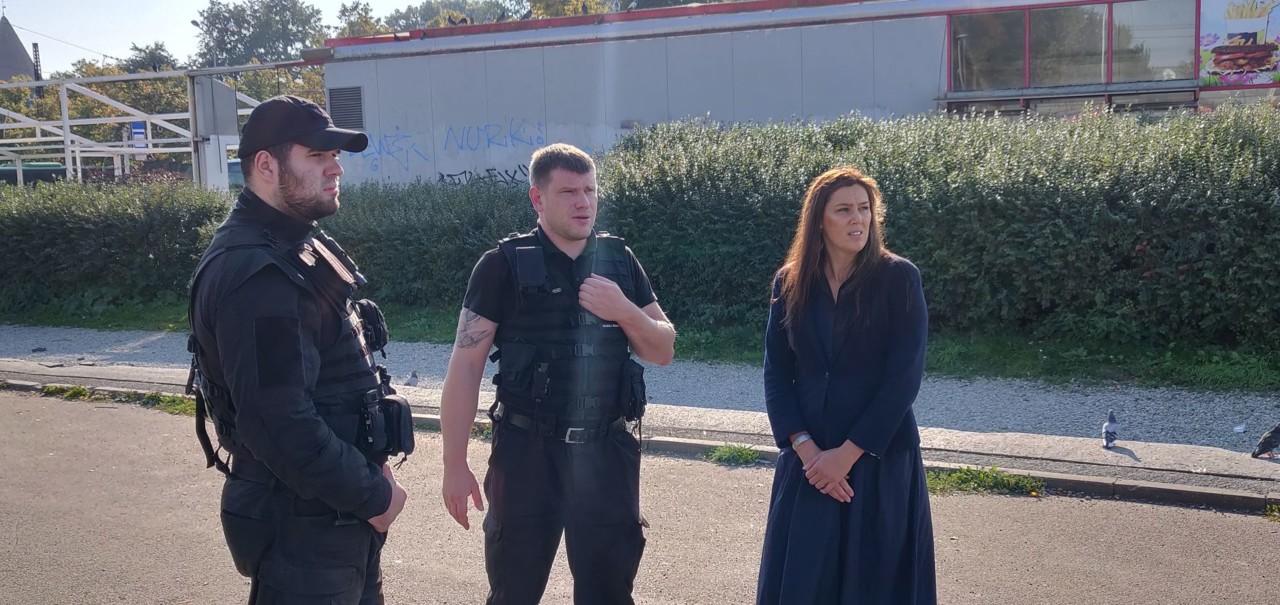 Порядок и безопасность в районе Балтийского вокзала обеспечит охранная фирма