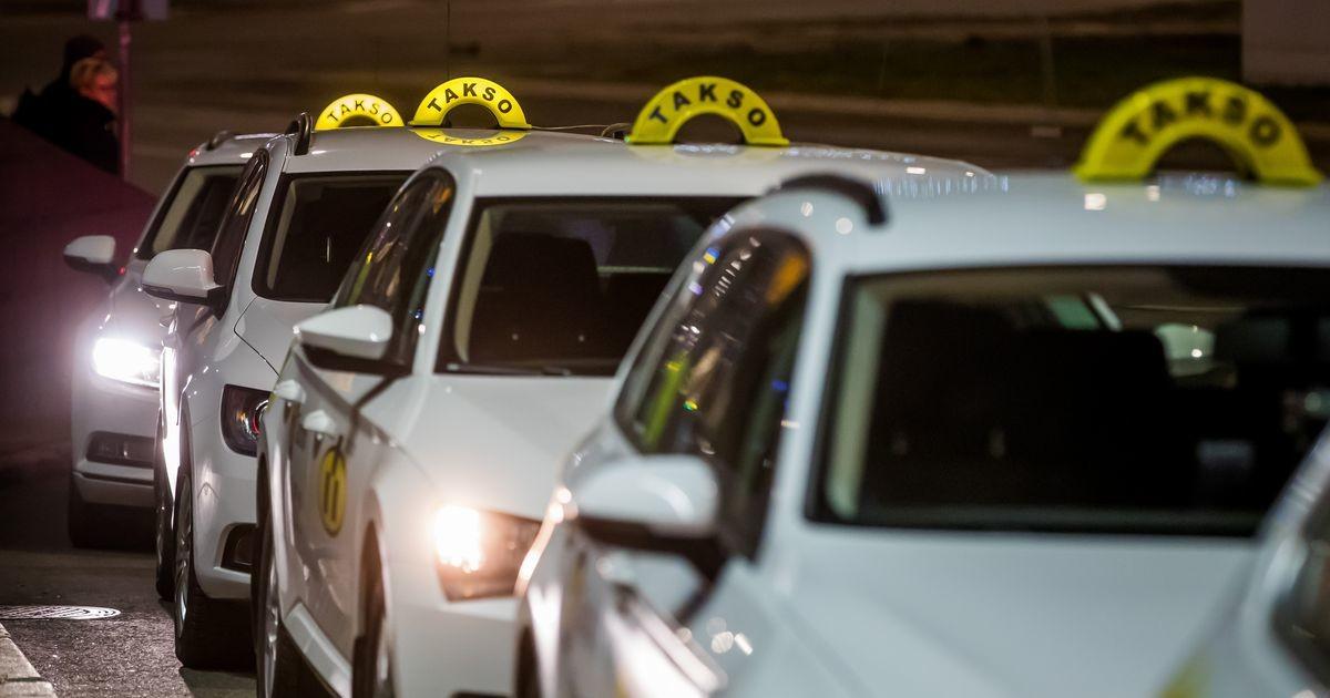 Спрос на такси в Таллинне резко вырос из-за гололеда