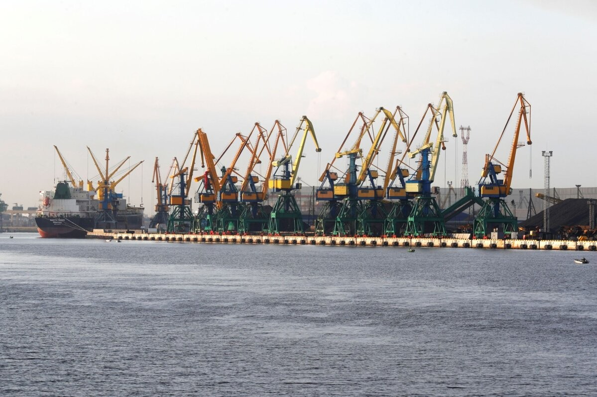 Грузооборот латвийских портов в первом полугодии упал на 9,5%
