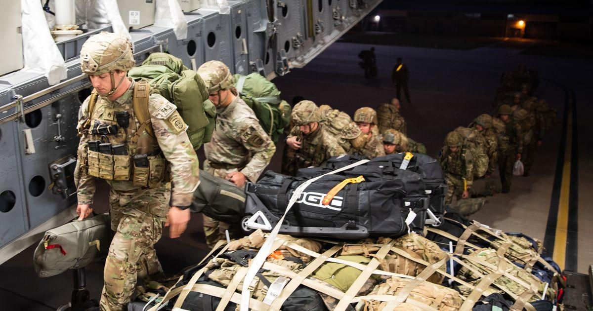 В Эстонии несколько десантников армии США попали в больницу