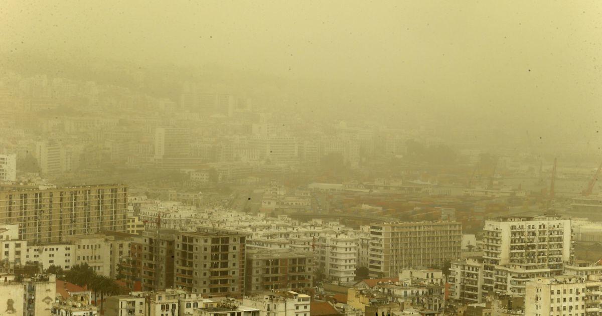 Эстонию накроет пылевое облако из пустыни Сахара