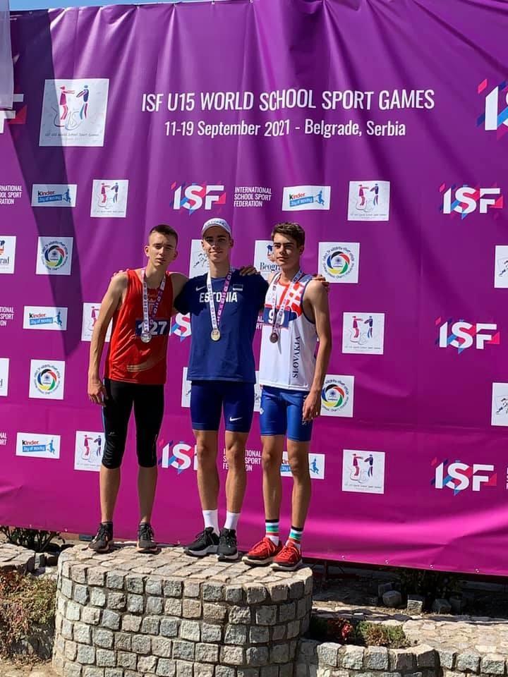 Савва Новиков завоевал золотую медаль на Всемирных Спортивных Играх в Белграде
