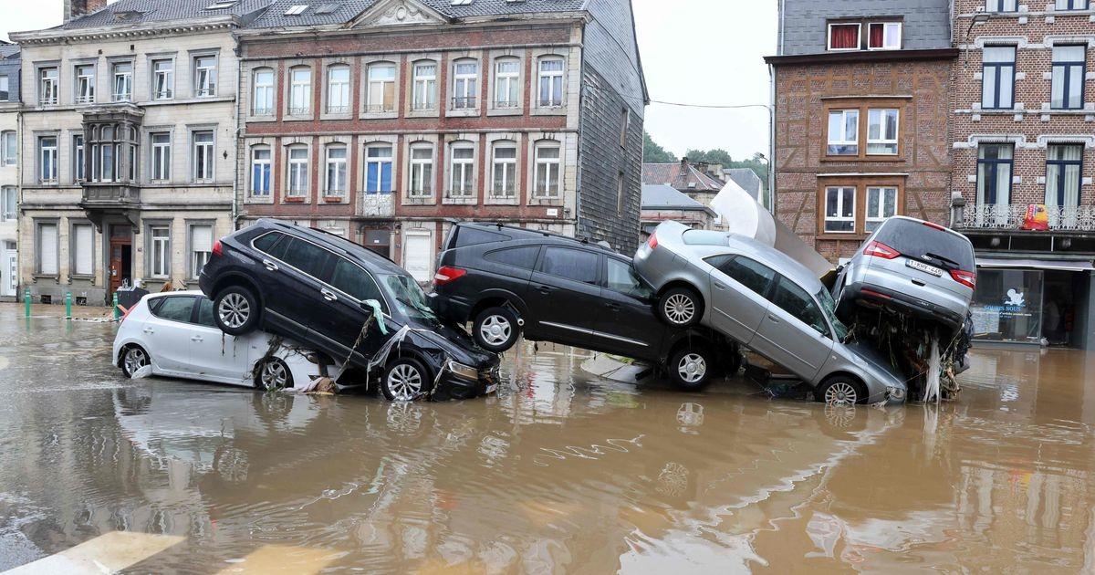 Затяжные ливни вызвали наводнение в Бельгии: минимум 14 погибших