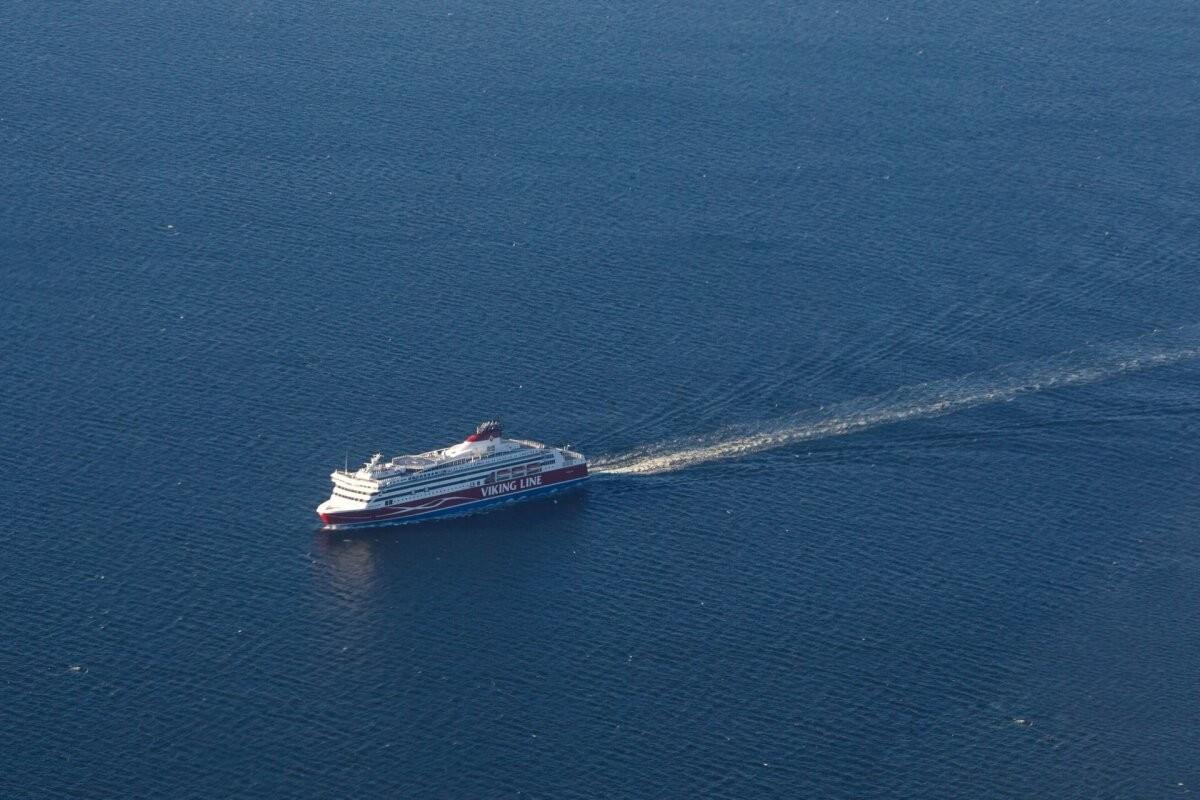 Число пассажиров Viking Line в первом полугодии сократилось на 46%